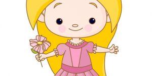 księżniczka, kolorowanka, dziewczynka