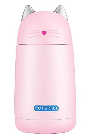 kubek termiczny dla dzieci kotek