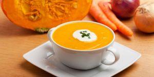 kuchnia, dynia, zupa, warzywa
