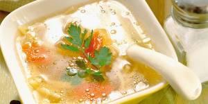 kuchnia, zupa, rosół, talerz, łyżka