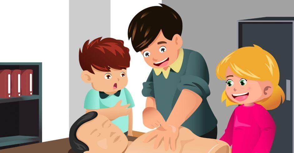 kurs pierwszej pomocy, nauka pierwszej pomocy w szkole