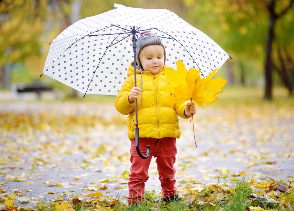 Kurtka jesienna i zimowa dla dziecka