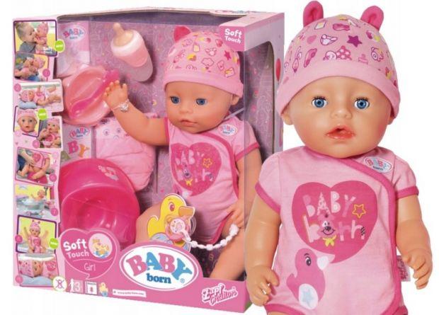 lalka baby born dziewczynka