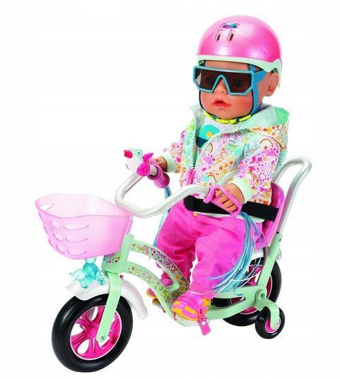 lalka baby born rowerek dla lalki