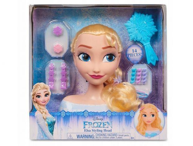 lalka Elsa głowa do czesania