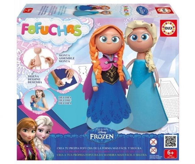 lalka Elsa i Anna zestaw kreatywny