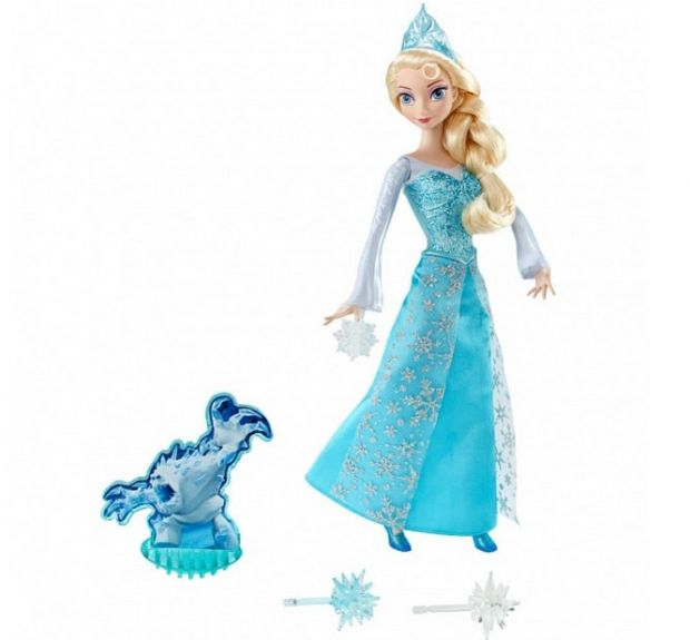 lalka Elsa ze światełkiem