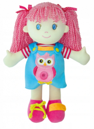 szmaciana lalka dla 4-latki