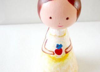 lalka z drewna, lalka w ciąży, lalka