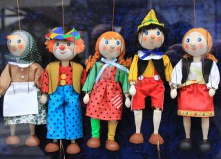 lalki marionetki