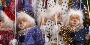 lalki, marionetki, teatr
