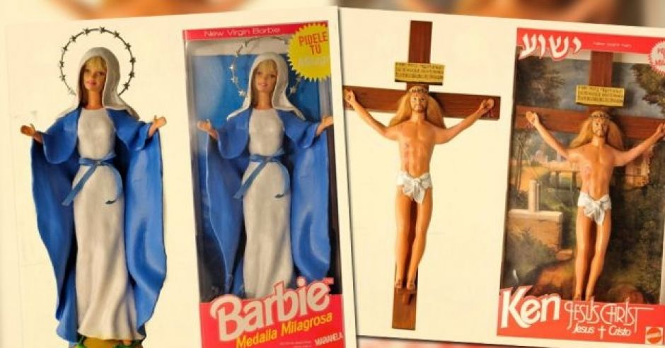 lalki religijne, Barbie Maryja, Ken Jezus