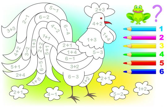 łamigłowki dla dzieci kolorowanka