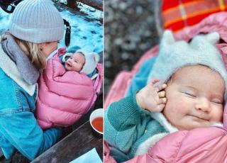 Lara Gessler usypia córkę suszarką