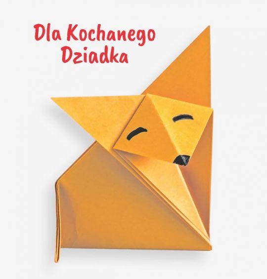 Laurka dla dziadka origami
