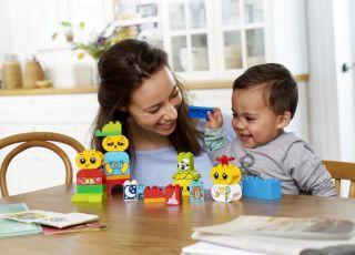 Lego duplo jak nauczyć dziecko emocji za pomocą klocków