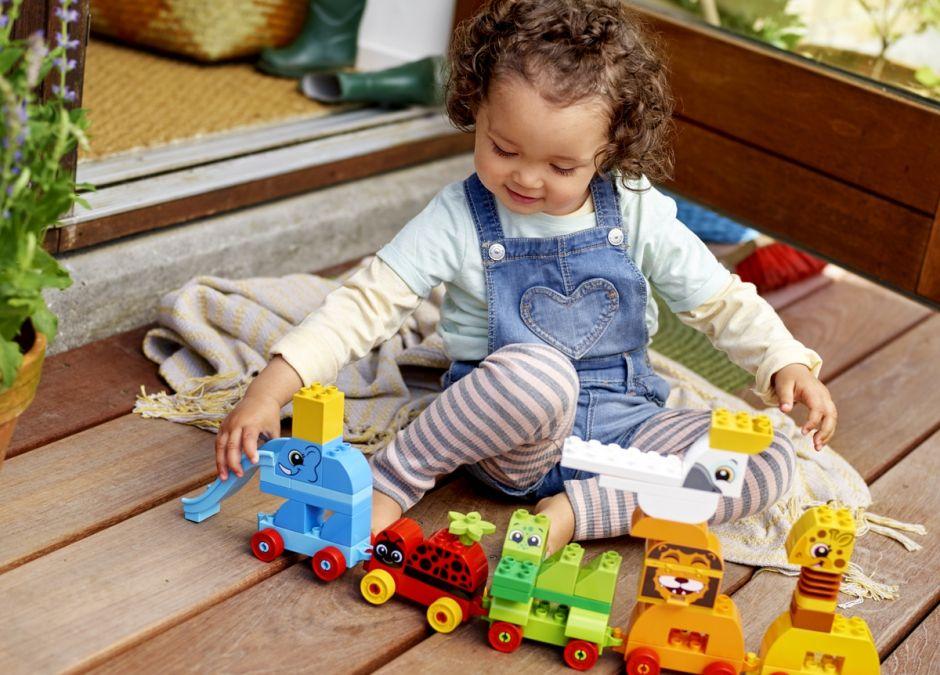Lego duplo jak rozwinąć kreatywność dziecka