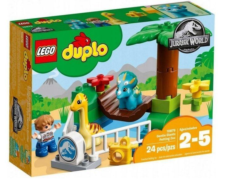 zestaw Lego Duplo z dinozaurami