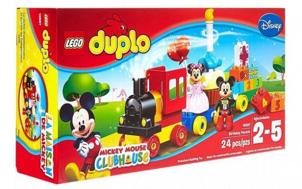 mały zestaw Lego Duplo Parada Mickey