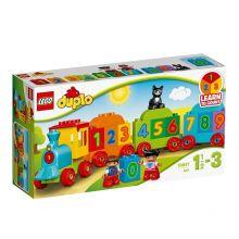 Lego Duplo Pociąg z cyferkami 10847 - katalog produktów na Babyonlinepl