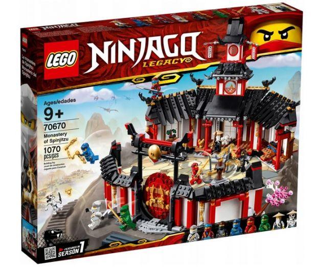 lego ninjago klasztor Spinjitzu