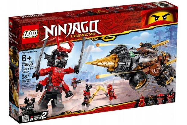 lego ninjago wiertło