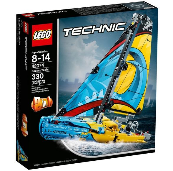 lego technic jacht