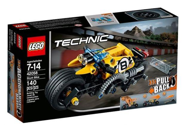 lego technic motocykl kaskaderski
