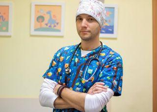Lekarz pediatra Dawid Ciemięga