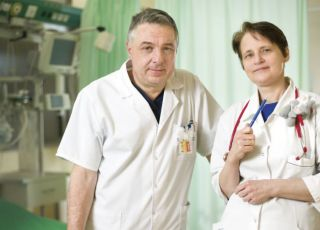lekarze z SOR na ul. Niekłańskiej w Warszawie