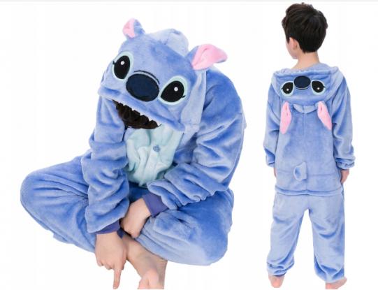 Lilo i stitch piżama jednoczęściowa dla dzieci