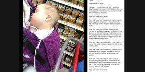 List do kobiety - rozpuszczone dziecko