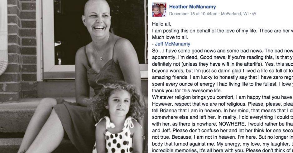 List zmarłej matki