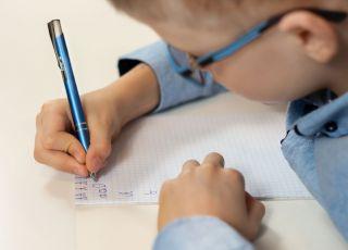 litera g do druku nauka pisania