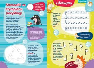 Literki i stempelki - zadania dla przedszkolaka do druku