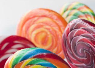 lizaki, słodycze