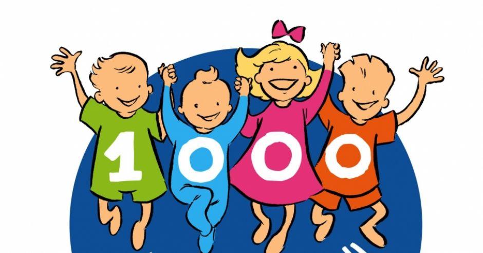 Logo 1000 dni dla zdrowia