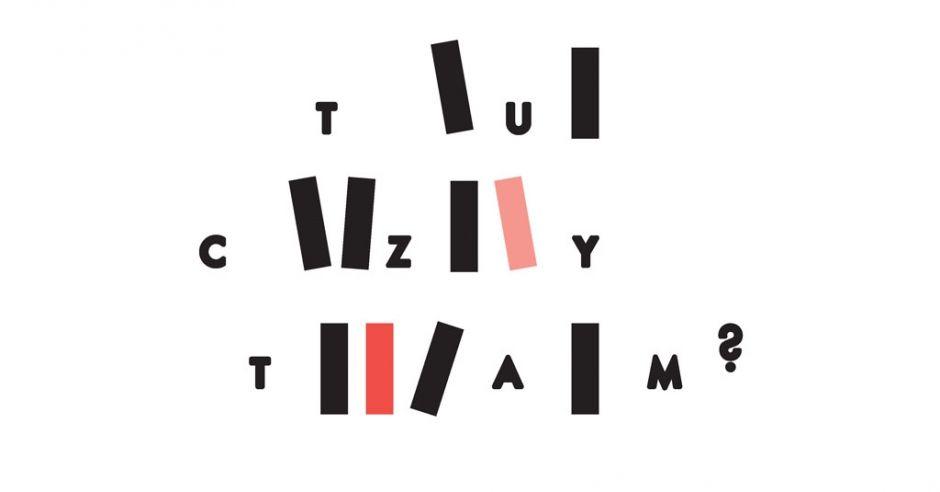 logo wystawy ilustracji dla dzieci Zachęta