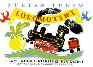 lokomotywa, okładka, tuwim