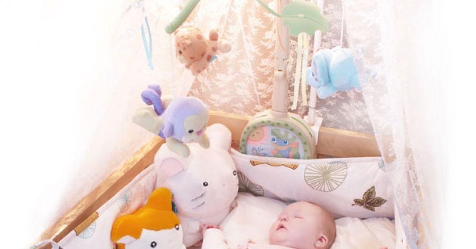 Łóżeczko dla noworodka
