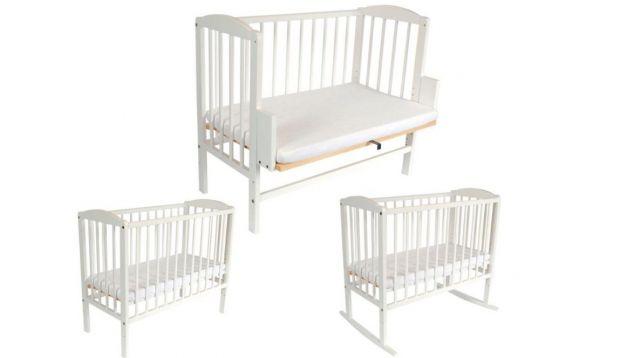 łóżeczko wielofunkcyjne dla niemowlaka