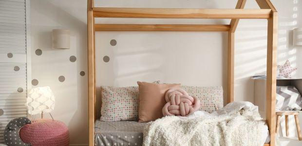 Łóżko domek DIY
