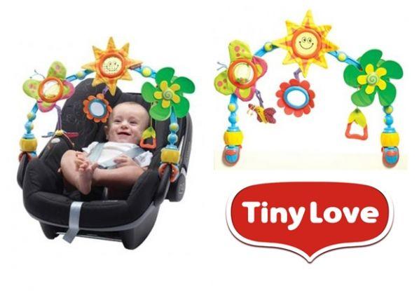 Łuk z zabawkami - Słoneczny spacer