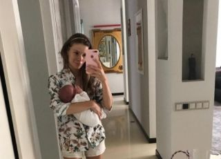 Maja Bohosiewcz z córką na Instagramie