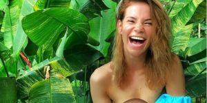 Maja Bohosiewicz karmi piersią córeczkę