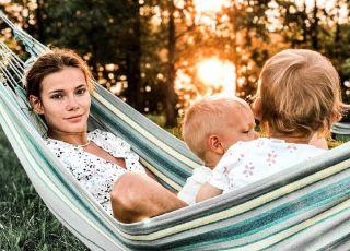 Maja Bohosiewicz z dziećmi