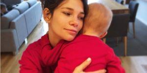 Maja Bohosiewicz z synkiem na czerwono takie same ubrania