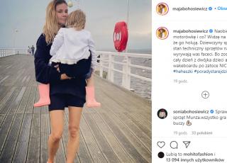 Maja Bohosiewicz została sama z dziećmi