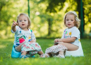 Majteczki treningowe dla dzieci uczących się korzystać z nocnika