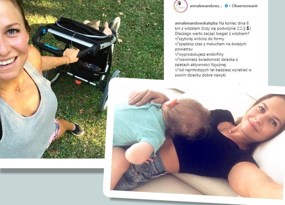 mała Klara Lewandowska ma specjalny wózek do biegania